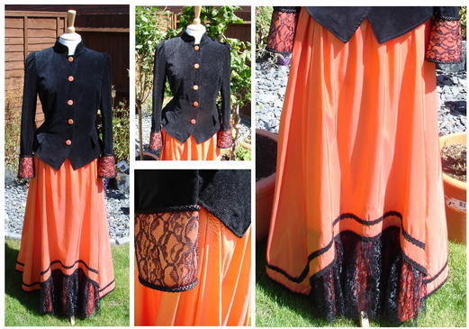 orange victorian